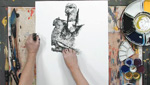 How To Use Cretacolor Art Chunky In Figure Drawing
