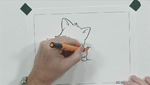 How To Color A Cartoon Kitten with Prismacolor Markers