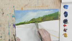 How To Paint a Landscape Scene Using Lukas Berlin Oils