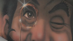 How To Paint a Monocle Using an Airbrush