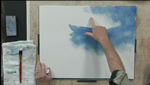 Creating Sun Rays in Watercolors