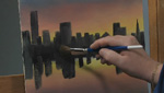 Paint Along: How To Paint A Cityscape In Oils