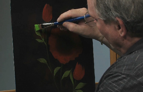 Paint Along: How To Paint A Floral In Oils