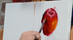 Painting an Apple in Oils