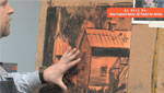 Adding Gouache To A Barn Underpainting