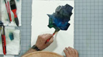 Creating Strong Darks in Watercolors