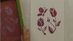 How To Screenprint Flowers in Silkscreening