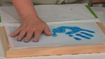 Handprints in Screenprinting and Silkscreening