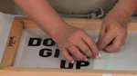 How To Trace Your Screenprinting Design in Silkscreening