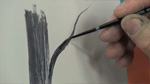 Painting Branches With a Script Liner Brush in Oils