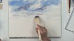 Watercolor Sky in Watercolors