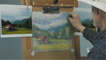 How To Use Soft Pastels To Finish A Pastel Painting