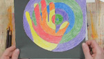Warm Hands Cool Background: Art Projects for Kids