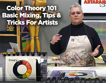 Color Theory 101 – Basic Mixing, Tips & Tricks | Artist Amy Gardner-Dean