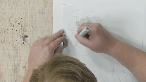 How To Draw Flesh Tones