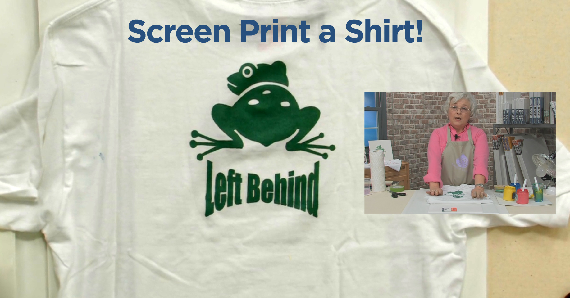 How To Begin Screen Printing a Shirt