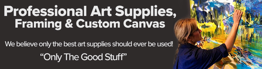 Professional Supplies for Professional Artists