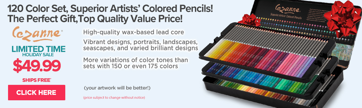Cezanne Colored Pencils set of 120
