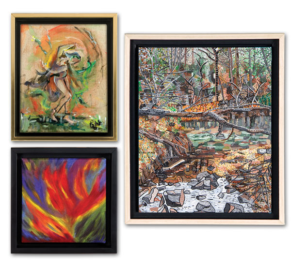 canvas floater frame 34 deep illusions jerrys artarama - Wood Frames For Canvas Paintings