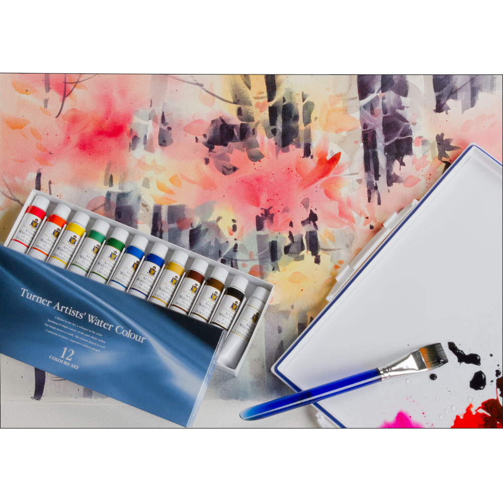Watercolor artist magazine review - Turner Concentrated Artists Professional Watercolor Sets Jerry S Artarama