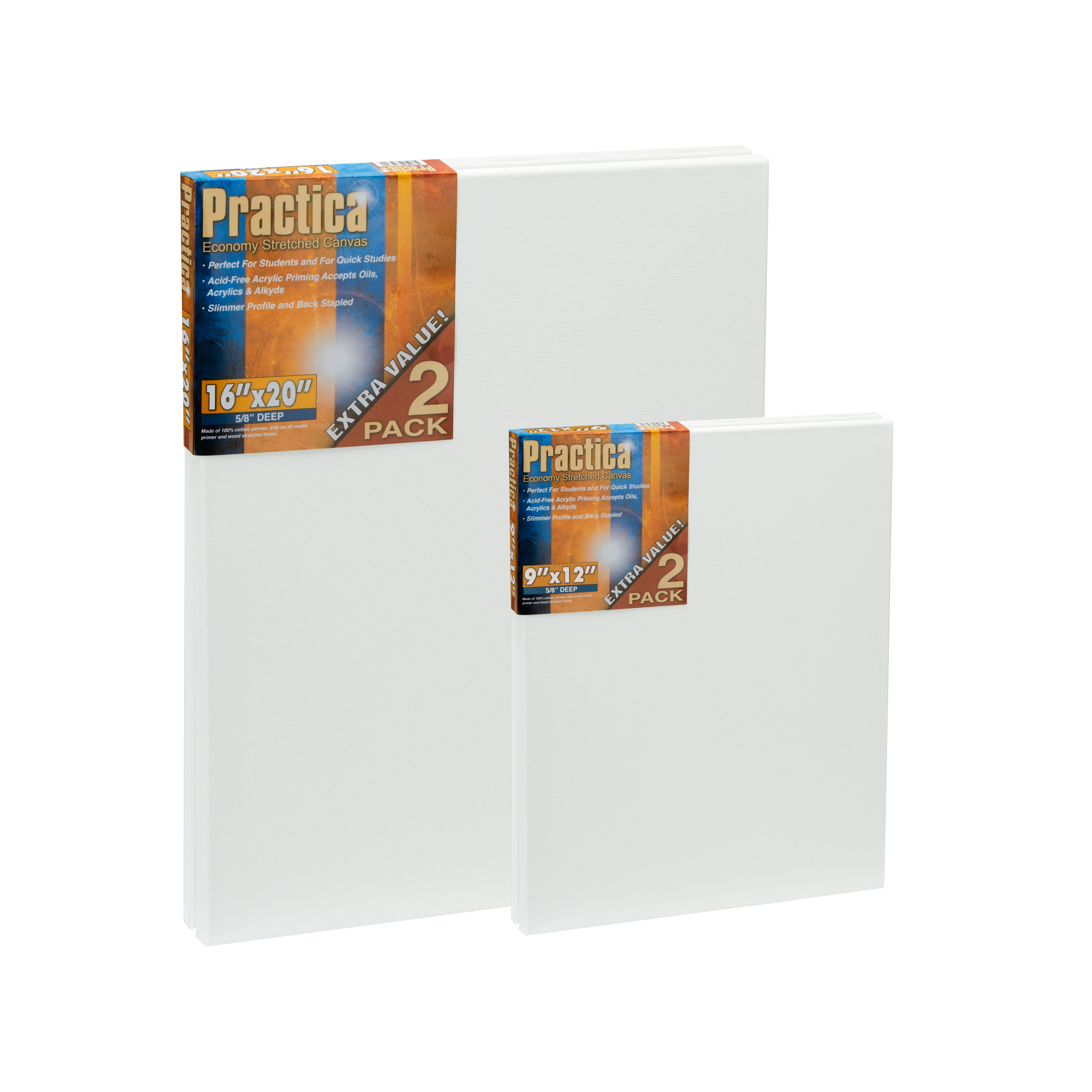 Practica Stretched Canvas | Wholesale Stretched Canvas - Jerry\'s ...