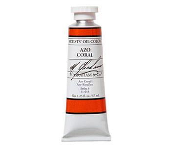 Limited Edition 37ml tube of Azo Coral