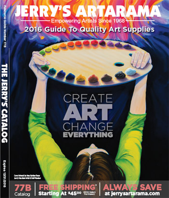 Jerry's Artarama 2016 Catalog - Resource Guide for Art Materials