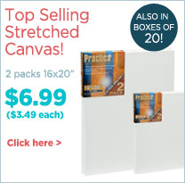 Best Selling Stretched Canvas - Practica
