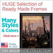 Ready Made Frames- Millbrook Collection
