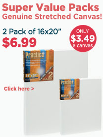 Stretched Canvas Sale - Practica