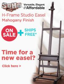 Soho H Frame Studio Easel