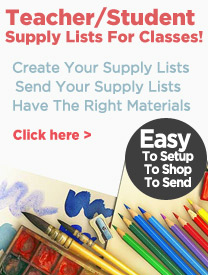 Create and Fine Art Supply Lists