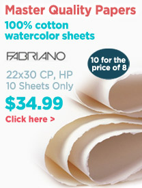 Fabriano Watercolor Paper On Sale