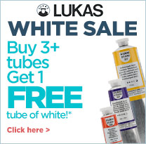 Get Free White Artist Paints-LUKAS White Sale