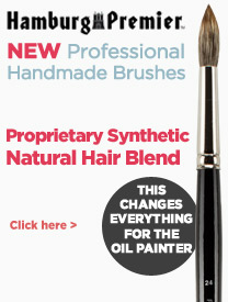 Professional Artist Brushes - Synthetic and Natural Hair Blend