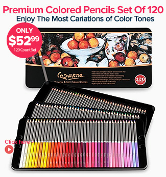 Cezanne Professional Artist Colored Pencil Sets