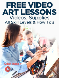 Free Art Lessons On Video for at home or in studio