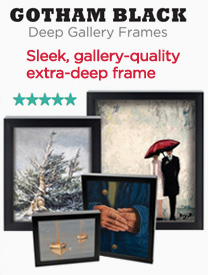 Black Ready Made Artist Frames