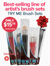 Professional Artist Brush Sets and Gifts Sale