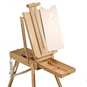 EASELS & STORAGE UNITS