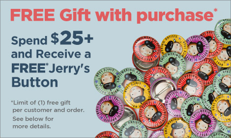 Free Gift from Jerrys with Purchase
