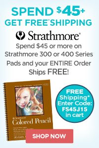 Strathmore with Free Shipping on select 300 or 400 series Pads