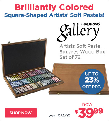 Mungyo Gallery Soft Pastel Square Sets