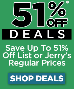 save 51% off list or regular pricing