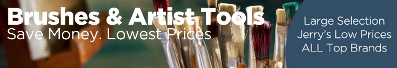Shop and Save on Discount Artist Brushes For All Media