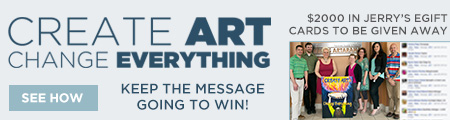 Create Art Change Everything Contest