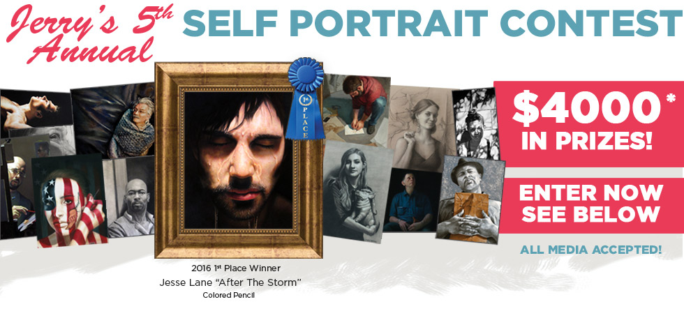 2017 Fifth Annual Jerrys Artarama Self Portrait Contest