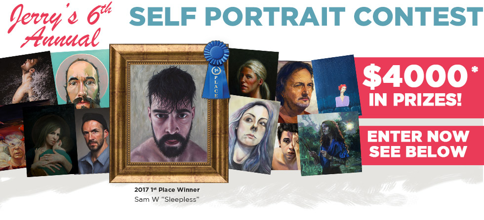 2018 Sixth Annual Jerrys Artarama Self Portrait Contest