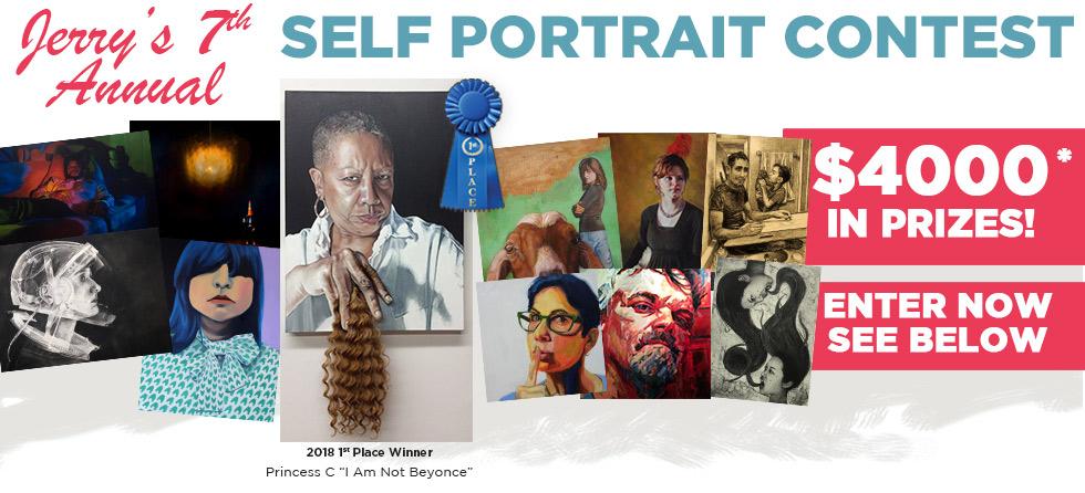 2019 Seventh Annual Jerrys Artarama Self Portrait Contest