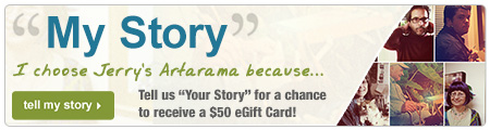 Tell Your Story for a Chance to Win a $50 Jerry's Artarama eGift Card!